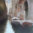 1 Fishing in Venice 24 X 36