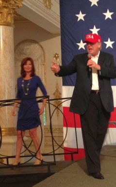 Donald Trump at Habilitation Center Event at Mar-a-Lago