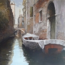 1 Fishing in Venice 24 X 36